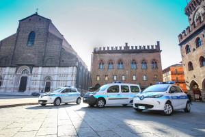 Renault ZE in flotta nella polizia municipale di Bologna