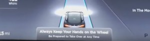tesla autopilot be prepared to take over