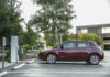 Nissan Leaf in ricarica