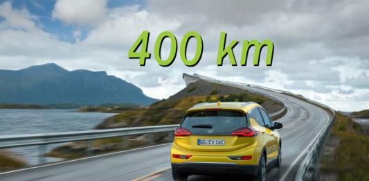 Autonomia Opel Ampera-e