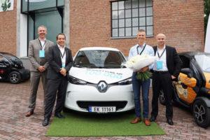 100000 veicoli Renault ZE