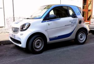 Smart fortwo car2go Milano