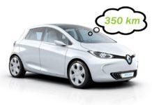 Autonomia Renault Zoe Parigi