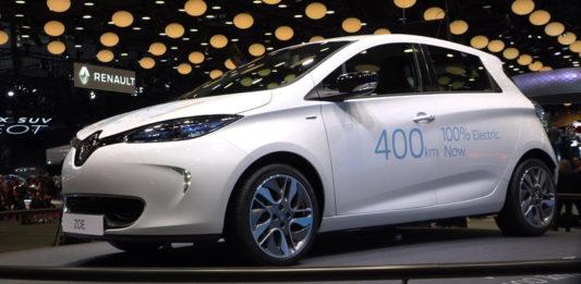 Nuova Renault Zoe Parigi 2016