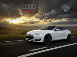 Tesla Model S batte la concorrenza
