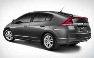 La Honda Insight utilizzava uno schema di motori ibrido parallelo