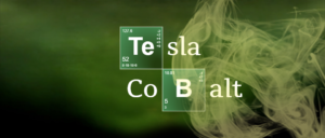 Tesla Cobalt nella grafica di Breaking Bad