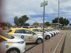 4USmobile: la flotta all'aeroporto di Brindisi