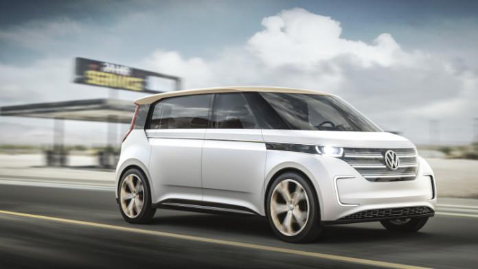 Concept elettrico Volkswagen Budd-e