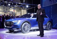 Ces2016 presentazione Audi etron quattro concept