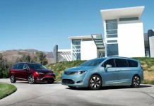 2017 Chrysler Pacifica ibrida