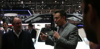 Elon Musk a Ginevra nel 2013