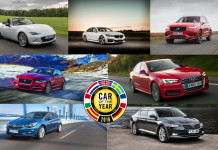 finaliste car of the year 2016