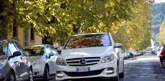 Noleggio Mercedes Classe B elettrica