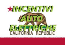 Incentivi auto elettriche california