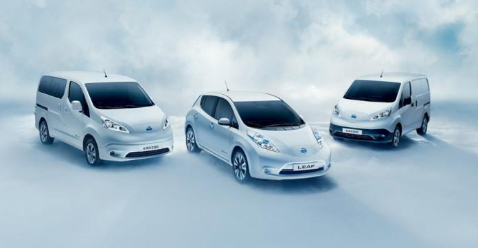 Listino e gamma Nissan Leaf Evalia