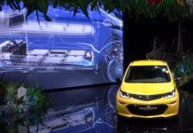 Presentazione Salone Parigi Opel Amperae