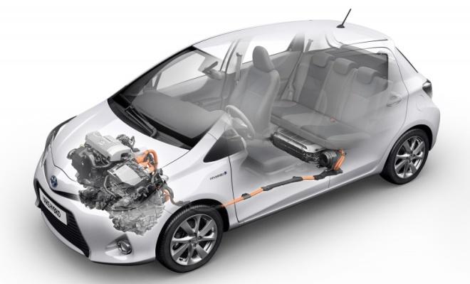 Schema Elettrico Yaris : Come funziona l auto ibrida con motore schema serie