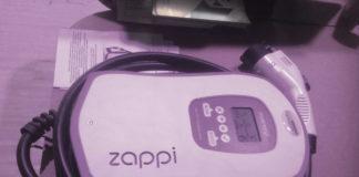 Il wallbox Zappi, prodotto dalla britannica myenergi