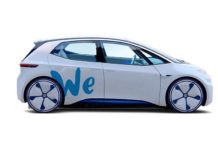 Volkswagen ID concept electric car