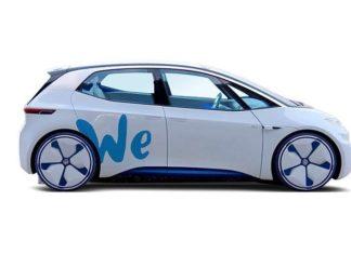 Volkswagen ID concept electric car