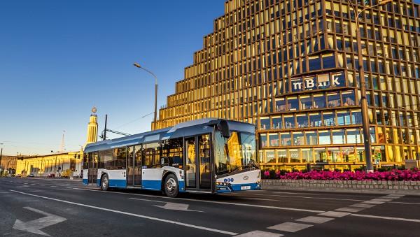 Urbino 12, bus elettrico della polacca Solaris