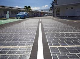 strada fotovoltaica
