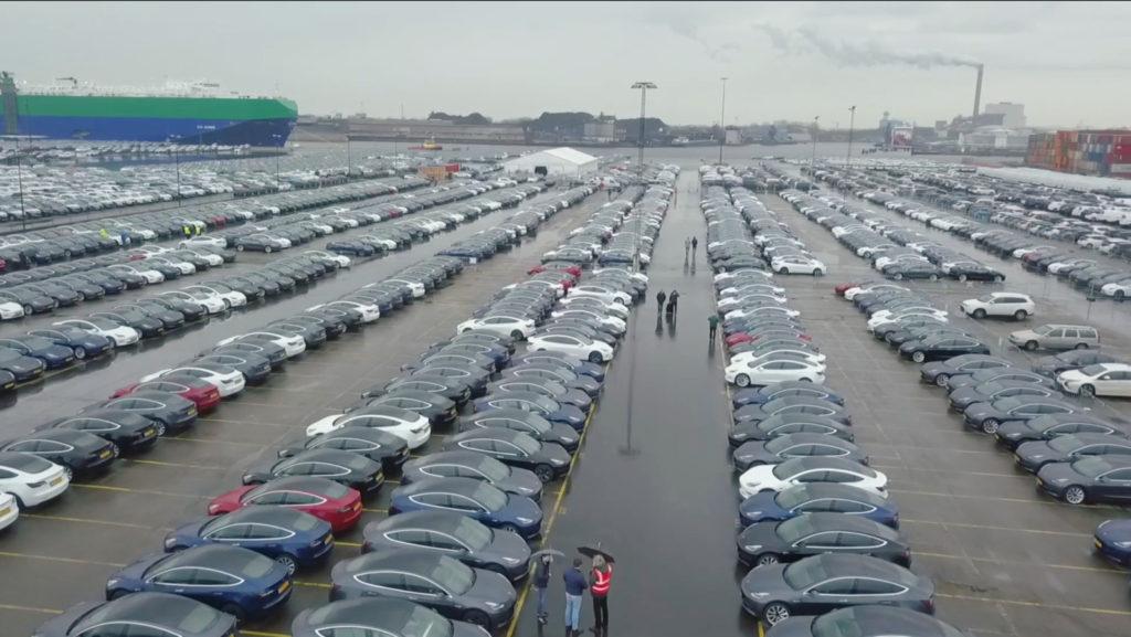 Tesla Model 3 Olanda