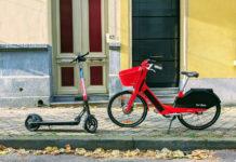 monopattino bicicletta