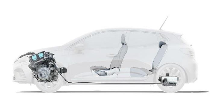 Ibrido etech Renault Clio