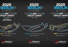 I tre diversi tracciati per le 6 gare (tre doppie) che permetteranno di chiudere formalmente la stagione 2019/2020 di Formula E.