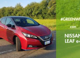 Nissan Leaf prova test