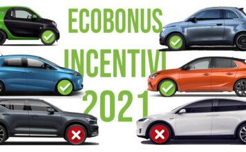 incentivi acquisto quali auto