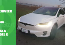 test drive prova Tesla Model X
