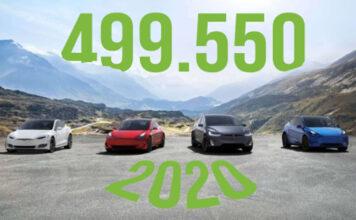 Tesla auto vendute