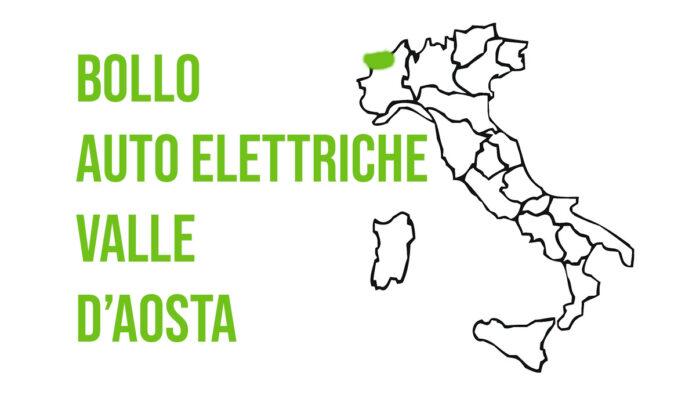 bollo auto elettriche valle d'aosta