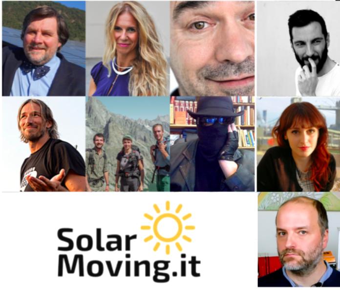 I personaggi di SolarMoving edizione 2021.